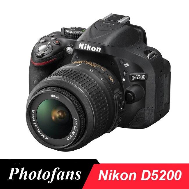 Nikon D5200 cámara DSLR con 18-55mm Kits de lentes (nuevo)