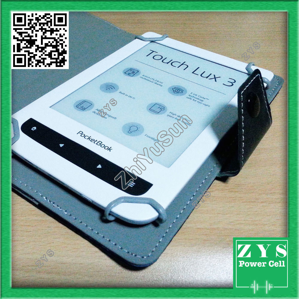 Ultra Thin Slim PU Leather Cover Case For Pocketbook Touch Lux 3 Pocketbook 614 Plus Pocketbook