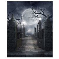 Halloween Vinyl Studio Backdrop Photography Prop Photo Background 10x10ft