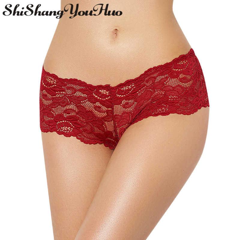 1379c2588 shishangyouhuo Exotic Womens Sexy Panties Briefs Boxer Shorts Lingerie  Sexual Underwear Big Plus Size XXXXXXL Underpants