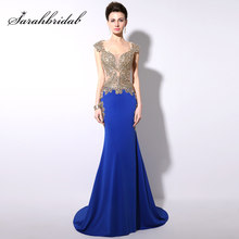 eec35592de731 High Quality Gold Long Prom Dresses Promotion-Shop for High Quality ...