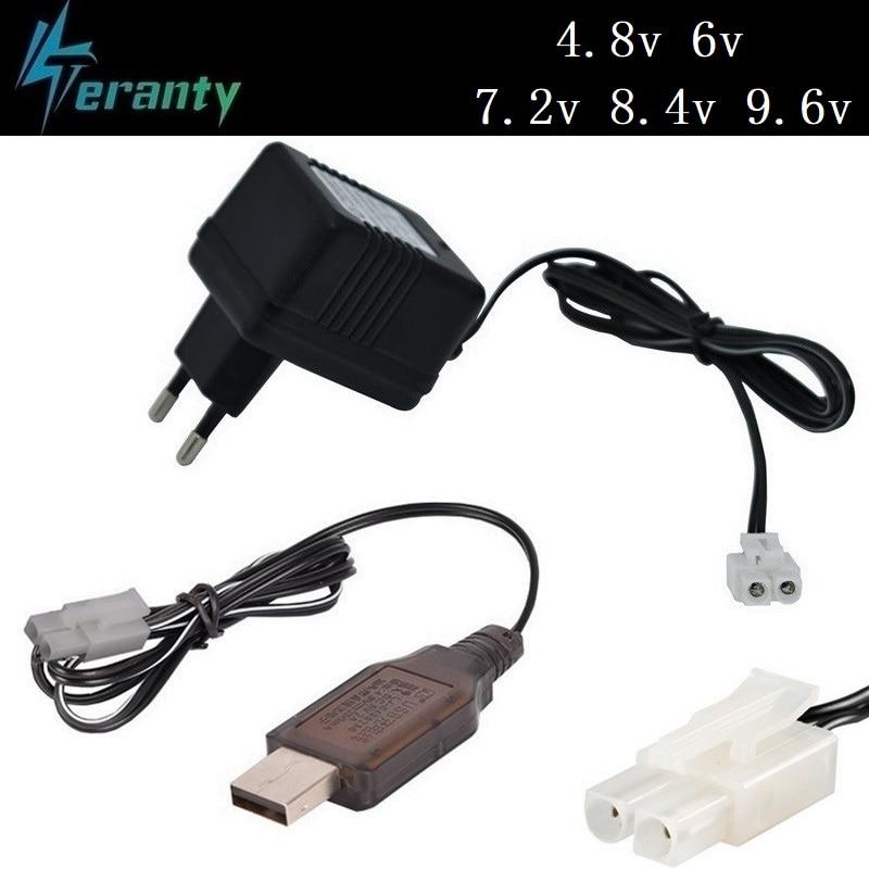 4.8v 6.0v 7.2v 8.4v 9.6v Charger For Nicd Nimh Battery With Tamiya Plug / KEP-2P Plug Input 110v-240v 9.6v Charger For Rc Toy