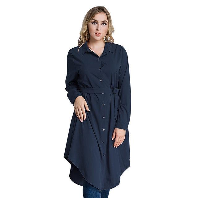 Online Shop Oversize 2017 Autumn Solid Color Long Sleeve Muslim