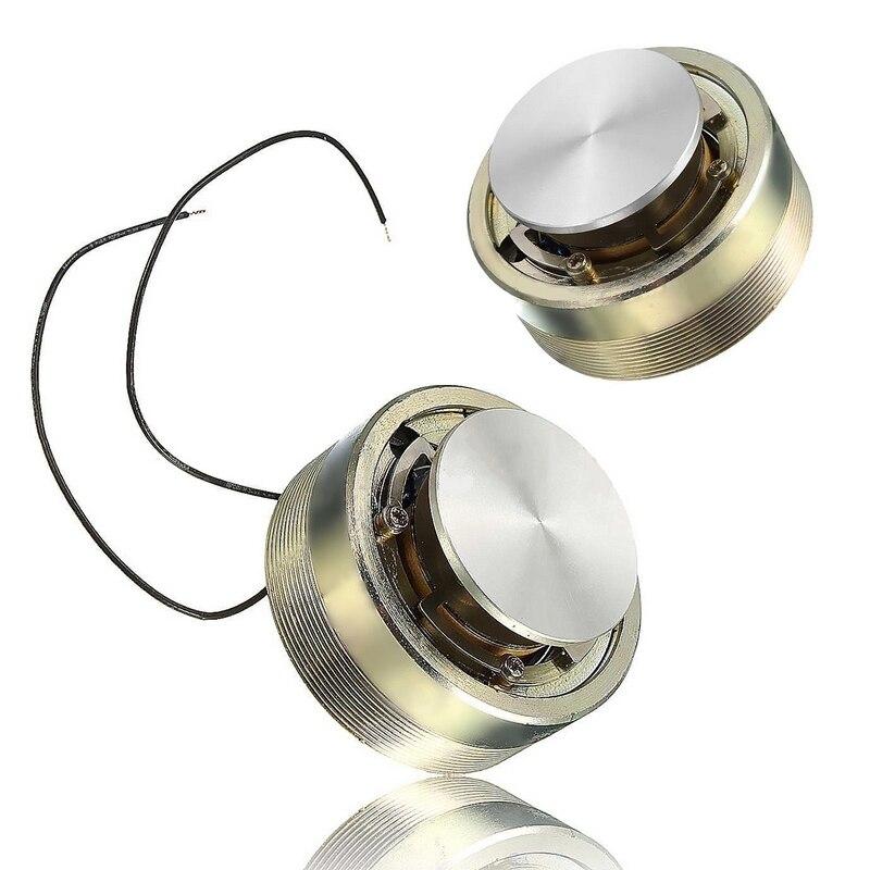 Mayitr 1pc 50MM 25W 4 Ohms Full range Resonance Speaker Bass Vibration Speaker 50 x 30mm