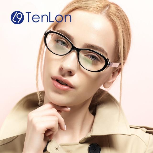 Las mujeres de la alta calidad con la caja, marco de los vidrios para mujer oculos de grau feminino, armacao gafas de grau feminino wzm