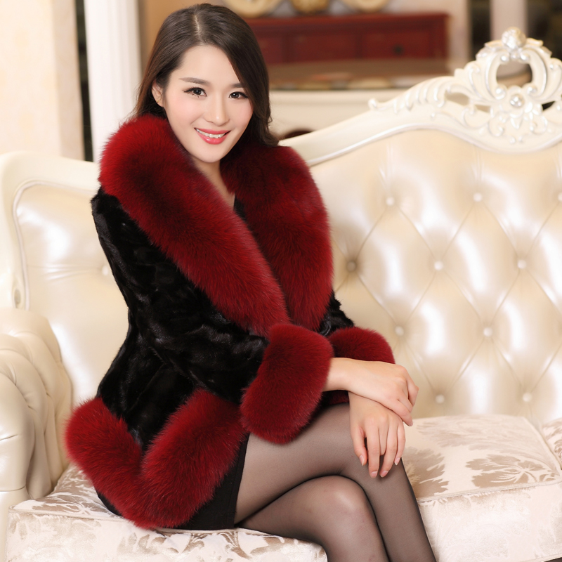 Aliexpress.com : Buy Winter fur coat female 2015 new faux fox ...