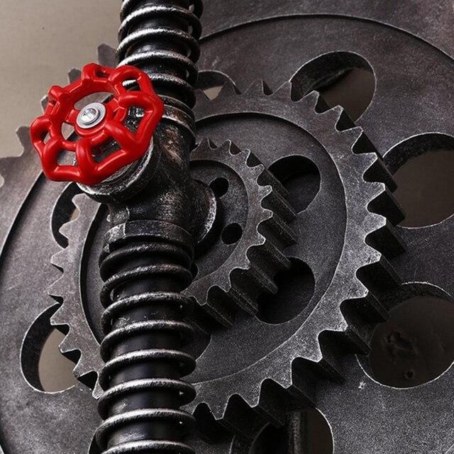 Retro Loft Industrieel Waterleiding wiel 5