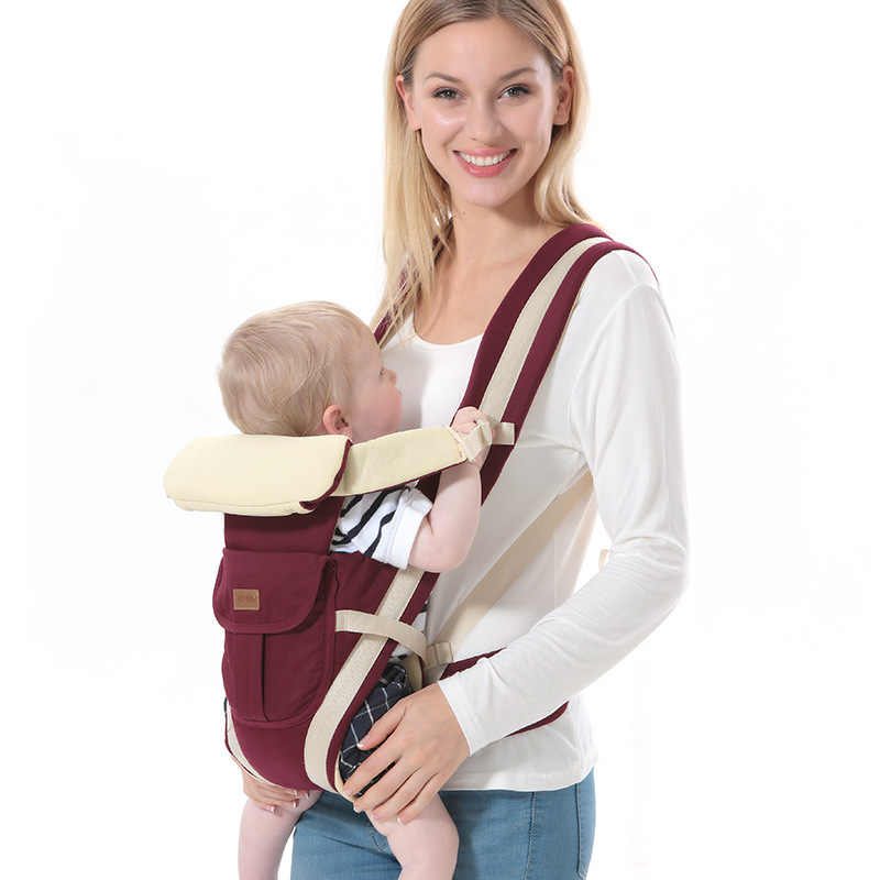 f5ba629ae88 ... New 0-30 Months Carrying for children Breathable Baby Carrier Manduca  Chicco Backpack Hipseat Pouch ...