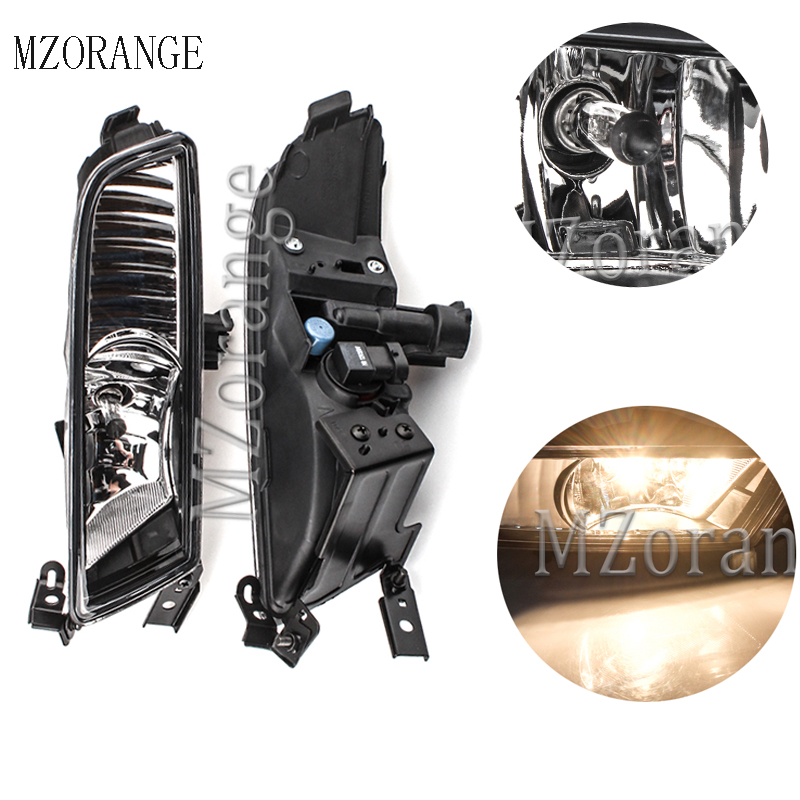MZORANGE For Honda CRV CR-V 2015 2016 fog lamps Front Bumper Fog Lights Driving Light Lamp Halogen Bulb