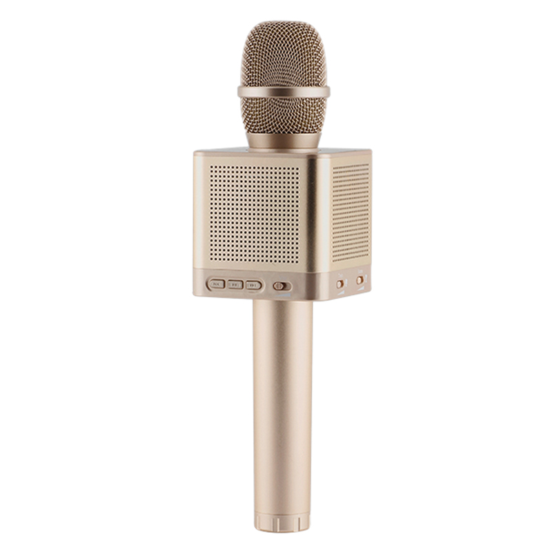 Q10S Wireless Karaoke Microphone 2.1 Sound Track Dimensional Sound Voice Change 4 Speakers Smart Microphone doitop original q10s wireless bluetooth microphone karaoke speaker home ktv mic with 4 loudspeakers voice change for phones b4