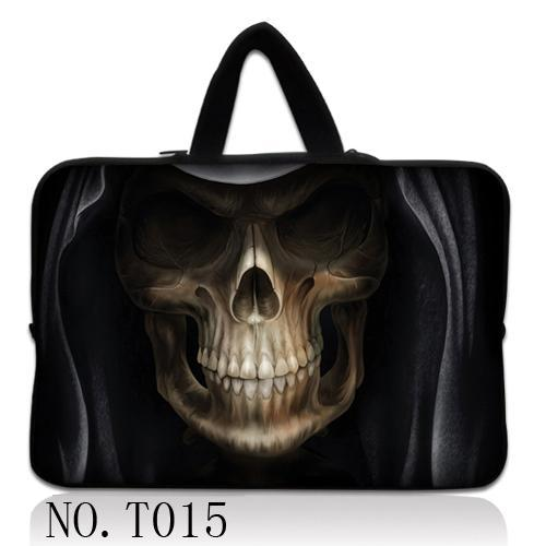 Skull Portable Zipper Soft Sleeve Bag Case 111314 15 for MacBook Air 13 CasePro/Retina Display Ultrabook Laptop Notebook