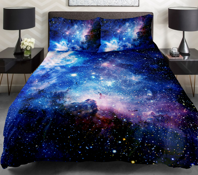 Galaxy Duvet Covers Bedding Sets With Luxury Bedspreads