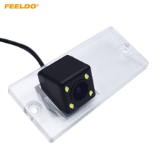 FEELDO 1Set Auto HD  Reverse Parking Back Up Camera For KIA Sportage(KM 04~10)  Sorento (MK1 03~08)  LED Rearview Camera #AM4737