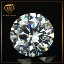 10pcs AAAAA+ White 10mm-20mm Cubic Zirconia Stone Round Cut Loose CZ Stone Synthetic Gems For Jewelry
