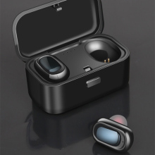 New Mini Dual V5.0 Wireless Earphones Bluetooth 3D Stereo Sound Earbuds with Mic and Charging Box IPX5 waterproo