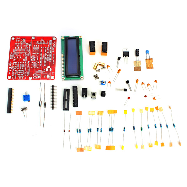 2017 New Arrival Original Hiland DIY M8 LC Digital Inductance Capacitance Meter Kit