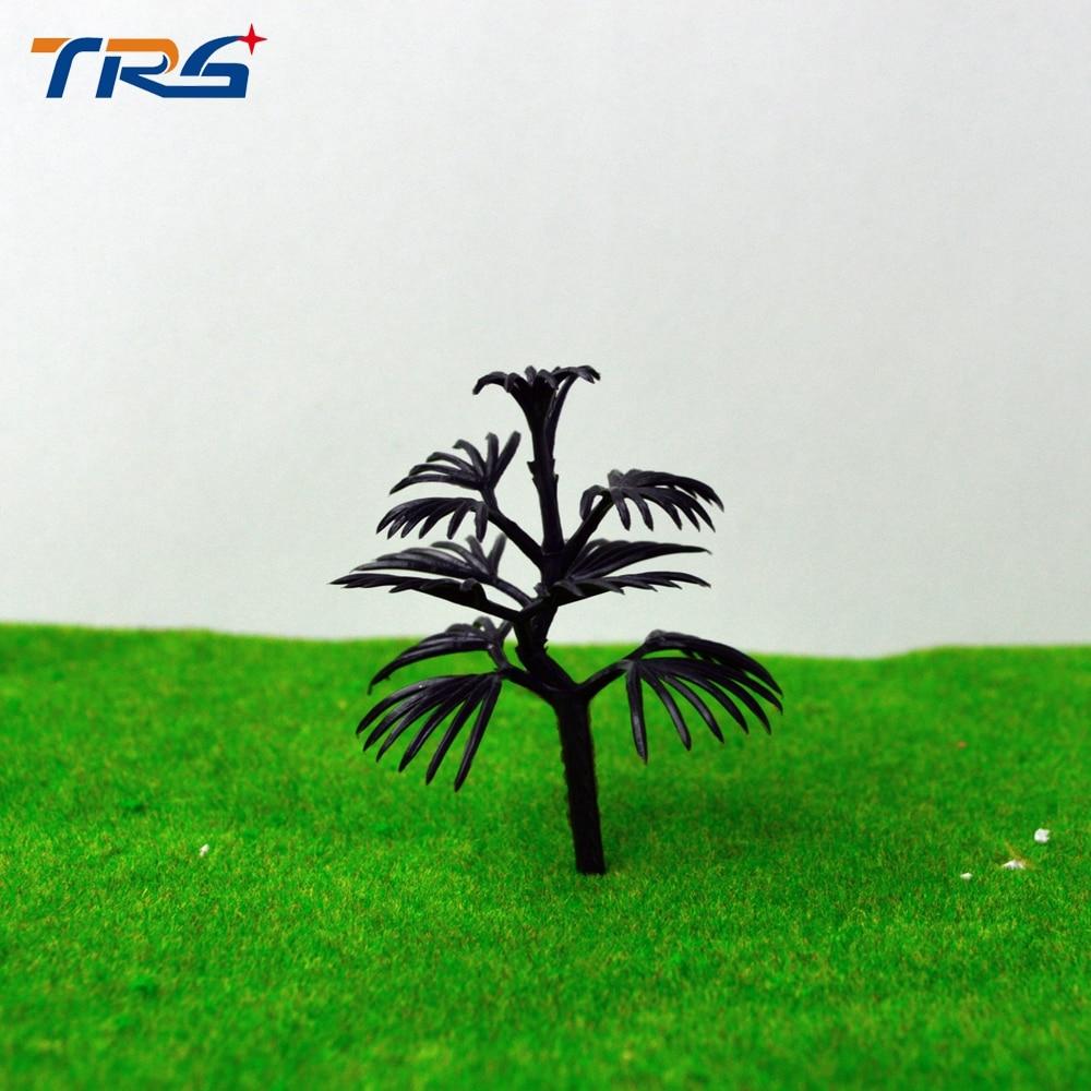 Arquitetônico A Fazer o natal Árvore da vida Kits estande 50pcs Mini Modelo Em Escala Sem Foilage brinquedos passatempos A micro estruturas