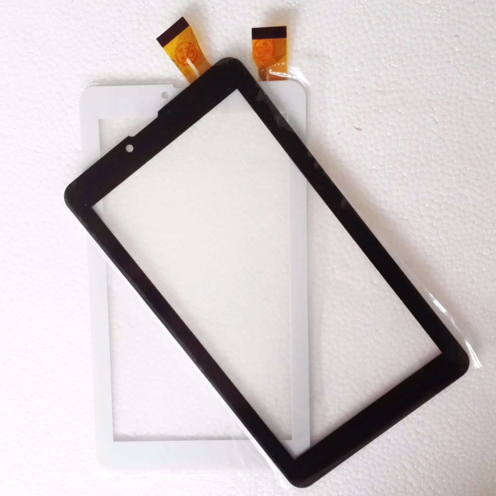 NEW 7 touch screen for Oysters Qysters T72HRi 3G touch digitizer sensor outer glasss black/white parts
