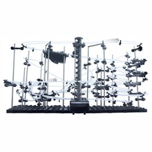 26000mm Marble Roller Coaster With Steel Balls Spacewarp SpaceRail Level 4 Toys