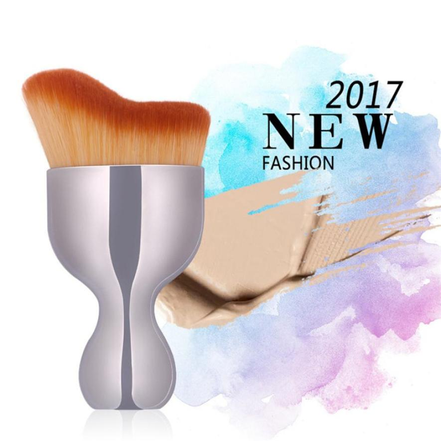 New Wave Shape Curved Soft Makeup Brush Foundation Shadow Contour Tool Sep 5