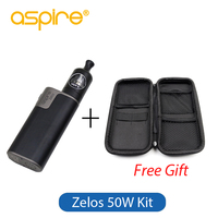 Original Aspire Zelos Kit 50W with Aspire Nautilus 2 Tank and Aspire Zelos Box Mod Vape Electronic Cigarette Full Kit
