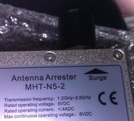 цена на New and original wlan antenna arrester MHT-N5-2