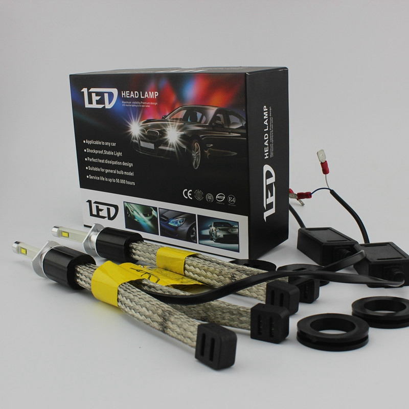 OCSION R4 H1 LED Headlight Conversion Kits 30w 3600lm 6000K pure white headlights H3 H4 H7 H8 H9 H11 9005 HB3 H10 9006 HB4