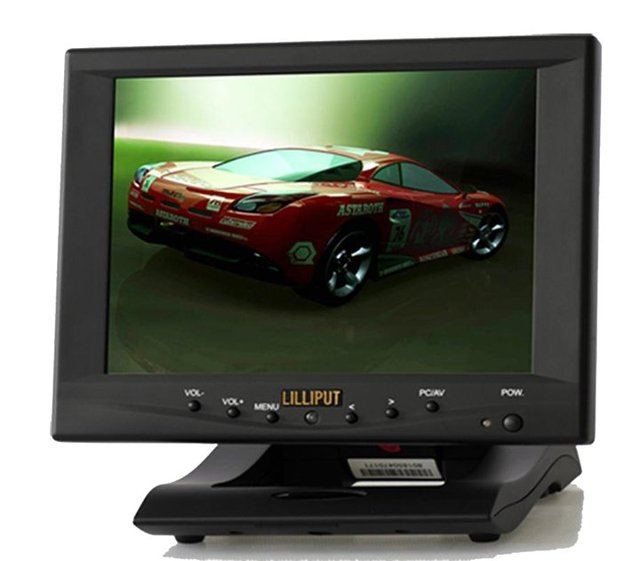 """8"""" foldable touch screen LCD Monitor"""