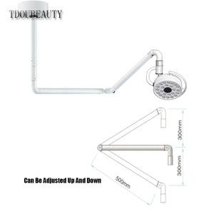 Image 5 - TDOUBEAUTY 72 วัตต์ความสว่างเพดาน LED ผ่าตัดสอบ Light Shadowless โคมไฟสัตว์เลี้ยงผ่าตัดแผนกทันตกรรม (90 V  240 V) 800 มม.