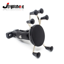 6 Feet X-Shape Universal Phone Mount Motorcycle GPS Stand Holder Cell Phone Cradle