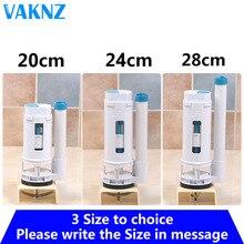 Туалет флеш комплект для ремонта кнопка белый двойной клапан промывочный клапан подходит для одного-Туалет tank