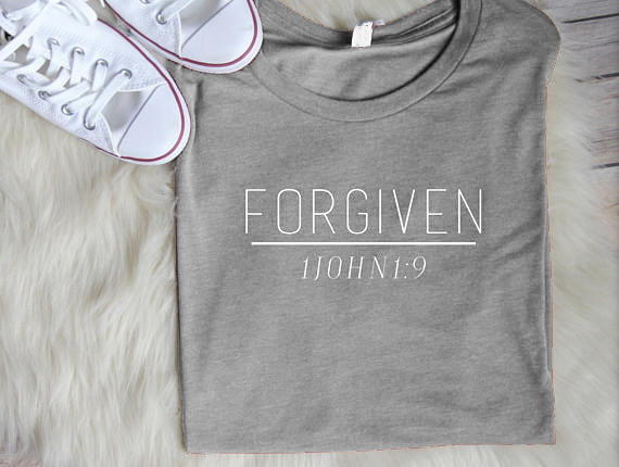 Shirt T Women's Christian Forgiven Shirts Yb76fvgy