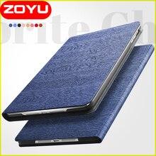 ZOYU Elegante para el ipad de aire 2 caso Del Tirón de LA PU Del Soporte Del Cuero cubierta para El Ipad de Apple caso de la cubierta protectora Universal para iPad air2 air6