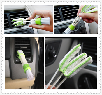 Car sedan SUV air conditioning care cleaning brush For BMW all series 1 2 3 4 5 6 7 X E F-series E46 E90 X1 X3 X4 X5 X6 F07 F09 image
