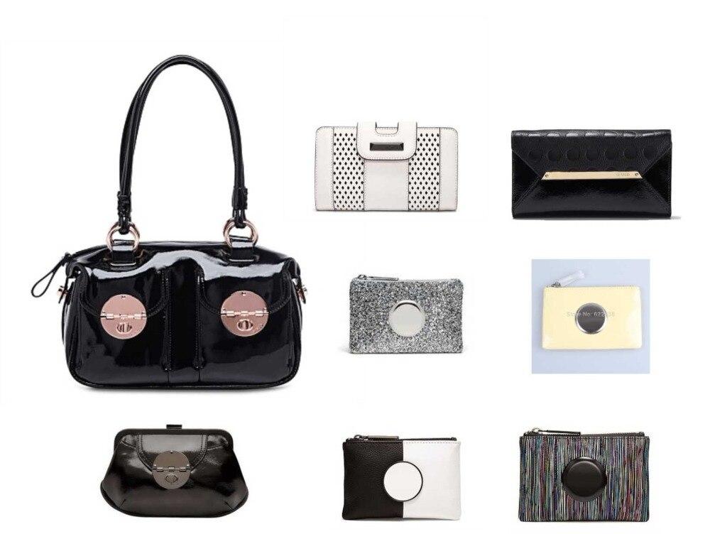 Stock vente propre sac à main avec pochette et portefeuille et petite pochette porte-monnaie combo vente