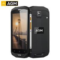 AGM A8 4 ГБ Оперативная память 64 ГБ Встроенная память 5,0 HD противоударный Водонепроницаемый телефон IP68 Qualcomm MSM8916 4 ядра 13.0MP 4050 мАч NFC OTG телефона