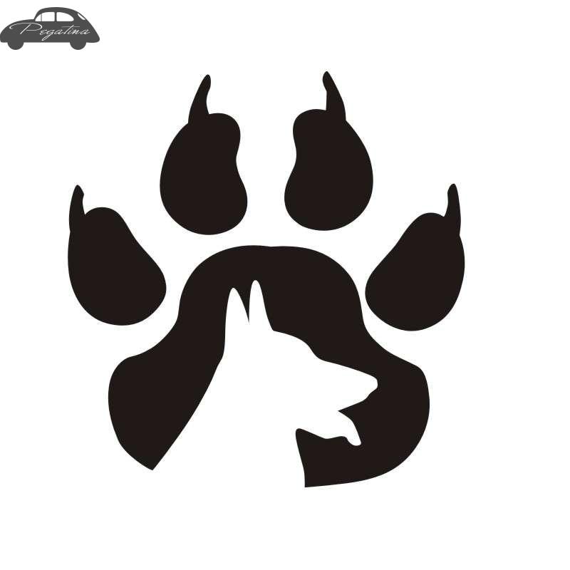 Pegatina Car Puppy Pet Shop Sticker Dog Decal Posters Vinyl Wall Art Decals Quadro Parede Decor Mural Pet Shop Sticker