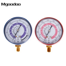 2Pcs Air Conditioner Refrigerant R134A R22 R410A High Low Pressure Gauge Red High Pressure Gauge Blue Low Pressure Gauge PSI KPA needle gauge gauge pressure gauge set of 3