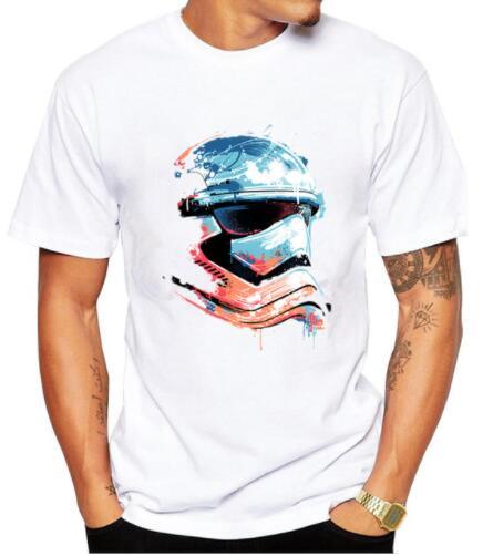 2017 Men T Shirt Star Wars Stormtrooper printed funny t shirt for men tee shirts O-neck T-shirts Casual T-Shirts mens tops tees