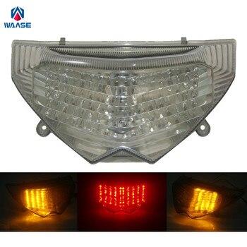 waase For Suzuki Bandit GSF1250S 2007 2008 2009 2010 E-Mark Rear Tail Light Brake Turn Signals Integrated LED Light