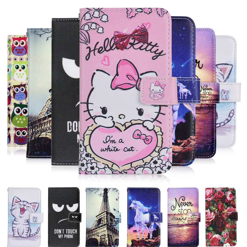 Cellphones & Telecommunications Flip Cases Devoted Kesima For Philips Xenium W732 Case Cartoon Wallet Pu Leather Case Fashion Lovely Cool Cover Cellphone Bag Shield