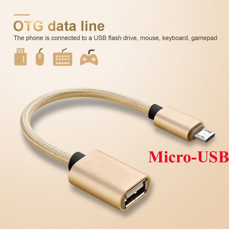 OTG Micro USB 3.0 Adapter Cable For Samsung Huawei Mate 20 HTC Xiaomi Android Tablet PC MP3 Smart Phone Micro USB OTG Cable