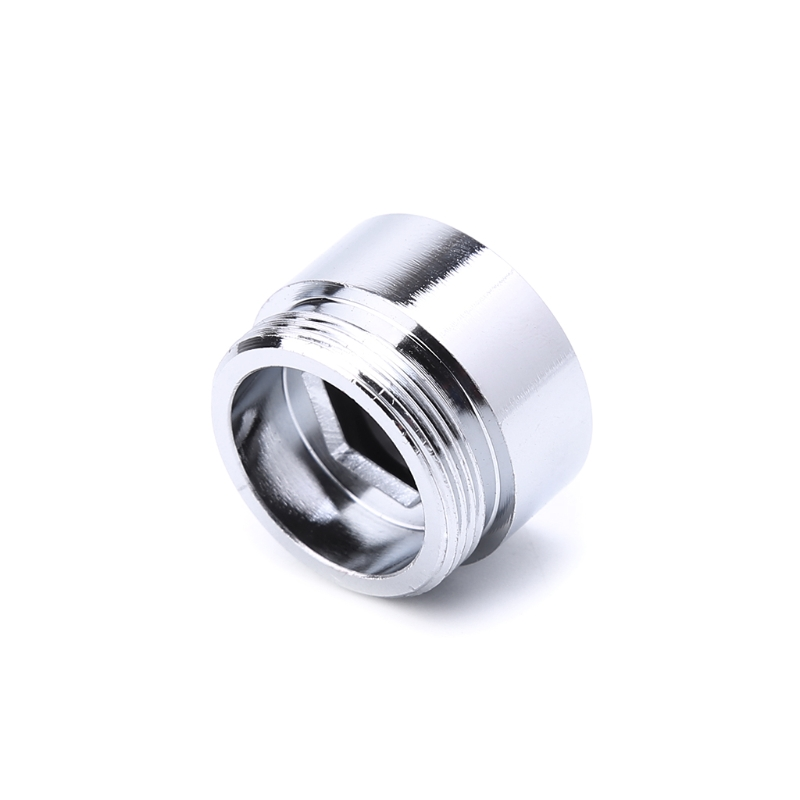 Solid Metal Adaptor Inside Thread Water Saving Kitchen Faucet Tap Aerator Connector Qiang