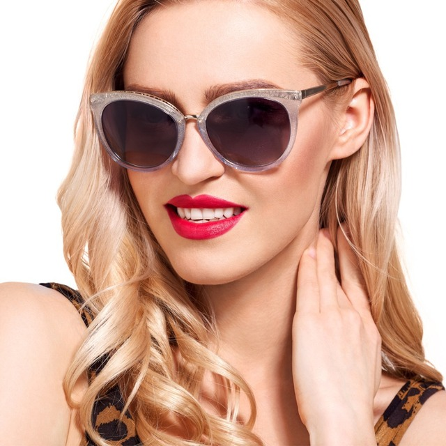67c11d8607a6 Women s Luxury Ladies Sunglasses Acetate Polarized Lens UV400 Frames  Opticals Inspired Reflective Revo Color Rimmed Style RS2832