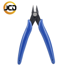 JCD Electrical Wire Cable Cutters Cutting Side Snips Flush Pliers Nipper Anti-slip Rubber Mini Diagonal black Pliers Hand Tools jingliang jl a17 professional diagonal cutting pliers black