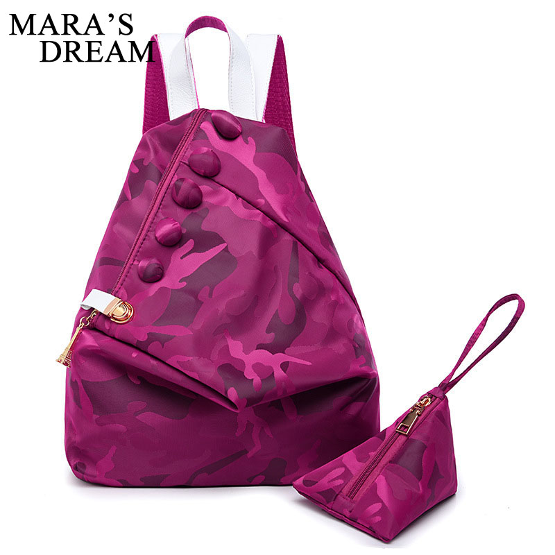 Maras Dream Fashion Multifunction Oxford Backpack Shoulder Bag Women Backpack Back Pack Rucksack School Bags For Teenager Girls