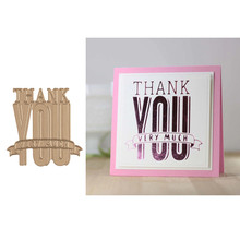 Thank you very much Flowers Metal Hot Foil Plates for Scrapbooking DIY Album Embossing Card Making Decor New 2019