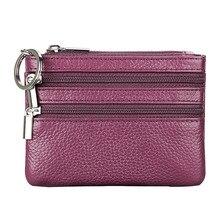 Fashion Mini Coin Purse Money Bags Small Change Women's Wallets Key Holder Case Mini Zipper Coin Wallet monederos para mujer A50