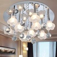Свет современные лампы кристалла потолочный светильник Европейский спальня гостиная загорается простой освещения cl9152