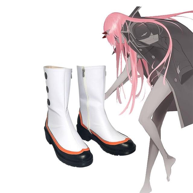 Sevgilim içinde franxx cosplay ichigo hiro sıfır iki Ayakkabı 02 Çizmeler japon cosplay ayakkabı